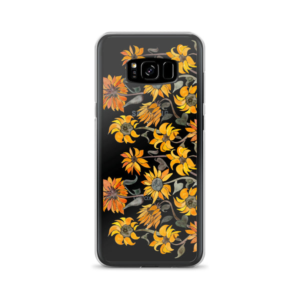 Sunflower Watercolor – Yellow Palette • Samsung Case