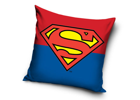 Cushion Cover Superman Logo - Red/Blue - Amazing Curtains