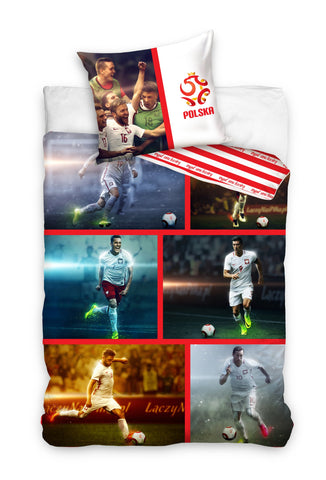 Official Bedding Set - Polish Team - Amazing Curtains