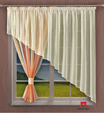 "Amazing Voile Net Curtain ""Magma"" - 300 x 150cm - Amazing Curtains"