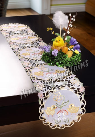 Easter Table Runner - 20 x 200cm - Amazing Curtains