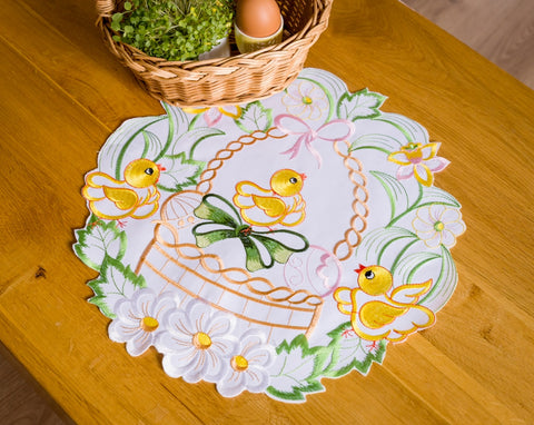 Easter Placemats - 30, 40cm Easter Chicks - Amazing Curtains