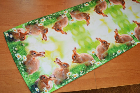 Green Easter Table Runner 40 x 140cm - Amazing Curtains