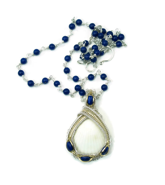 Gemstone Chain with Lapis Howlite