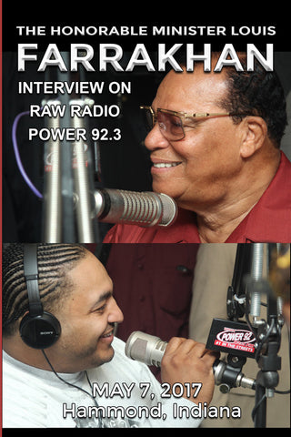 RAW Radio Interview with Minister Louis Farrakhan