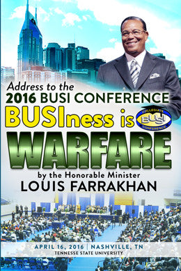 BUSIness is Warfare (Tennessee State University)
