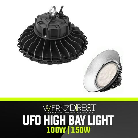 LED UFO High Bay Light (100W | 150W) - PanhandleLEDs Commercial LED lighting