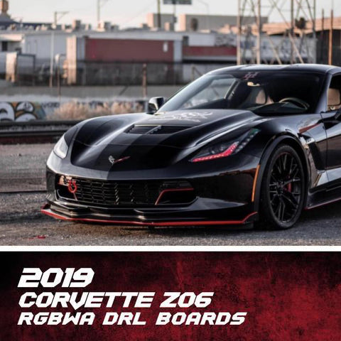 2014-2019 Chevrolet C7 Corvette RGBW +A DRL Boards