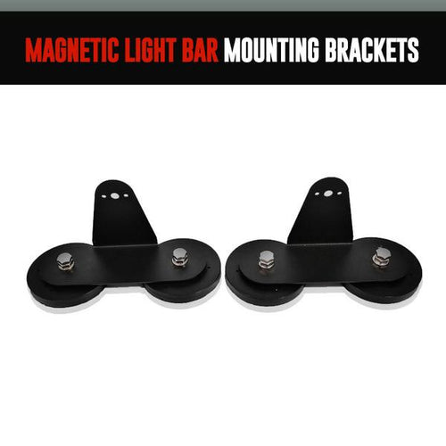 Magnetic Light Bar Mounting Brackets LED headlight kit  AutoLEDTech Colorwerkz Oracle Starry Night Flashtech
