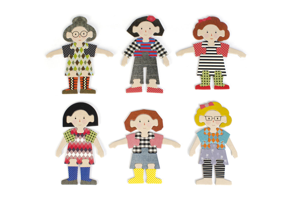 Mix & Match - Doll Puzzle