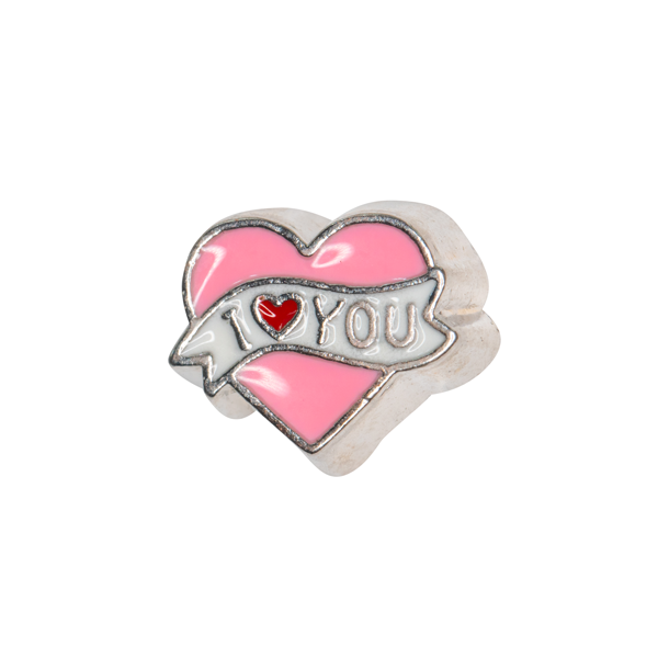 I Love You Ribbon Charm - SPECIAL jewelry - Monty Boy