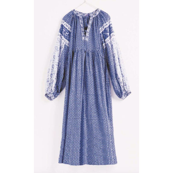 Matta Jaya Mira Dress in Blue