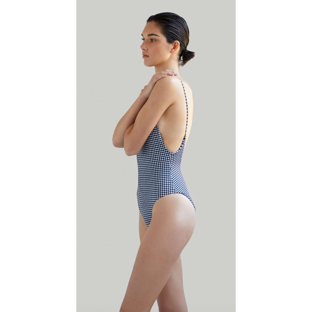 NOW_THEN Alona Onepiece Eco Swimsuit in Gingham