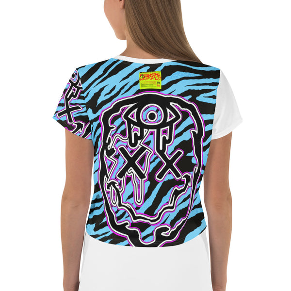 F*cking Weirdos Purple Face w/ Blue Zebra (Women's)