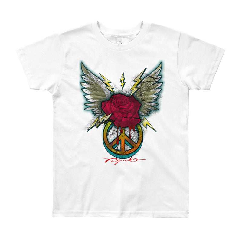 Youth Winged Rose Shirt (More Colors Available)