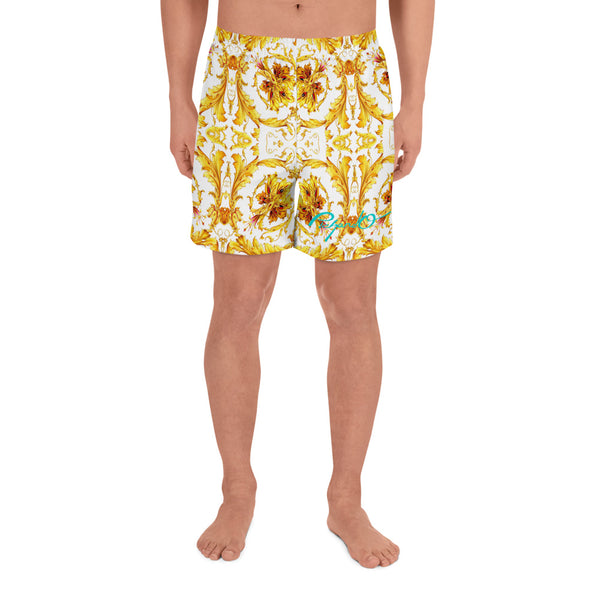 Verano Luxe Shorts White and Gold (Men's)