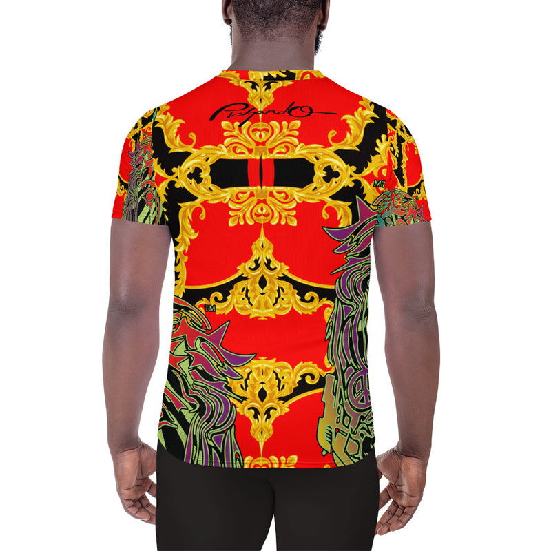 Verano Luxe Shirt Red, Gold and Black (Men's)