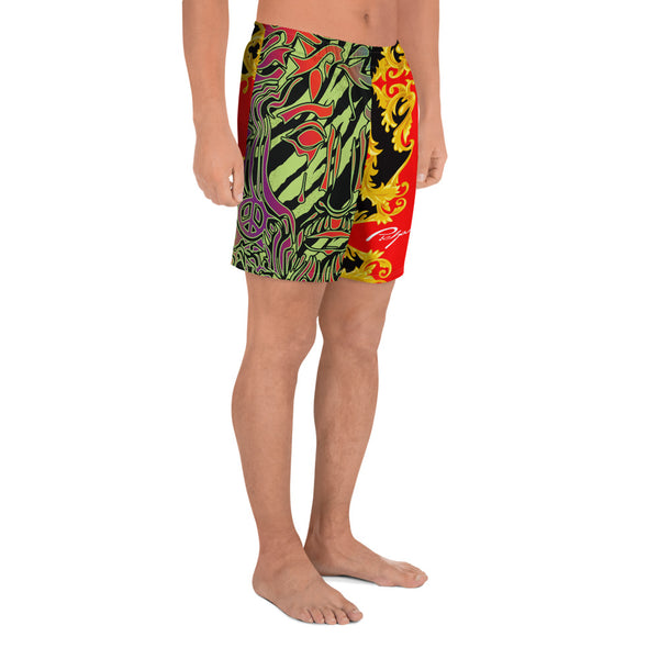 Verano Luxe Shorts Red, Gold and Black (Men's)