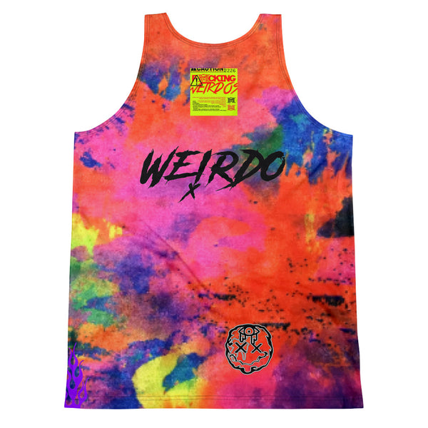F*cking Weirdos Multi-Color Drip Tank