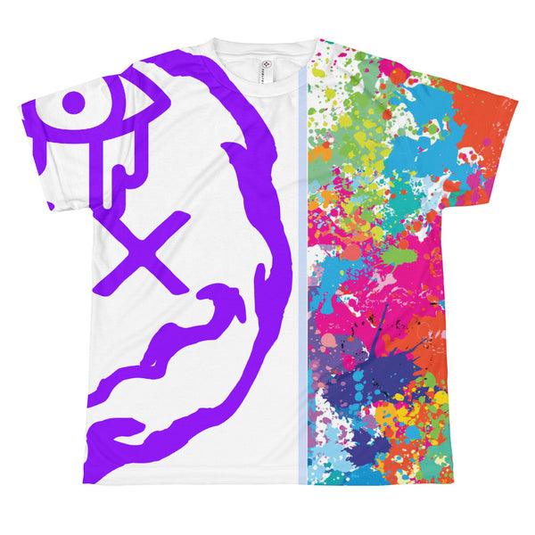 Youth Drip Paint Full Print Shirt