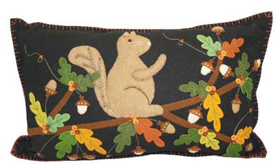 Rectangular Squirrel Pillow