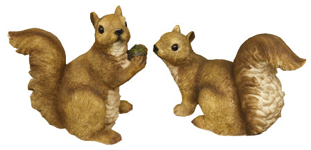 Resin Squirrel Statues