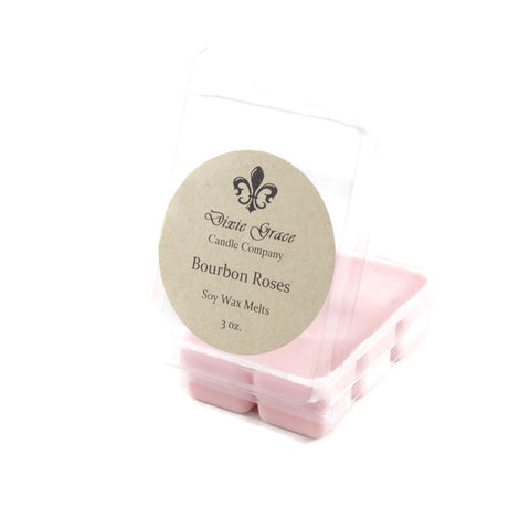 Bourbon Roses - Wax Melts