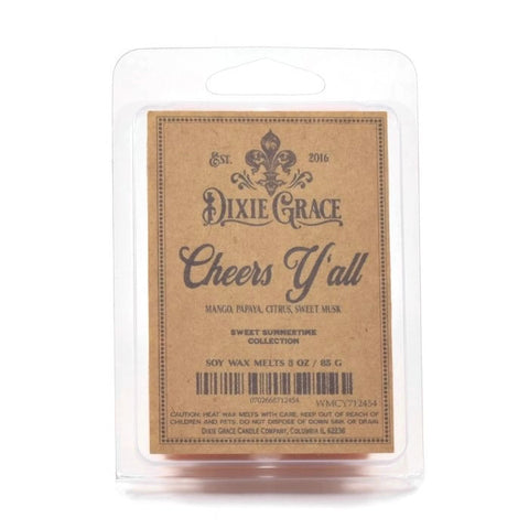 Cheers Y'all! - Wax Melts