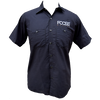 Button Up Work Shirt - Black