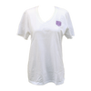 Traditional Foose V Neck Tee - White