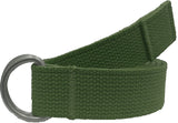 Olive Drab - Military D-Ring Expedition Belt