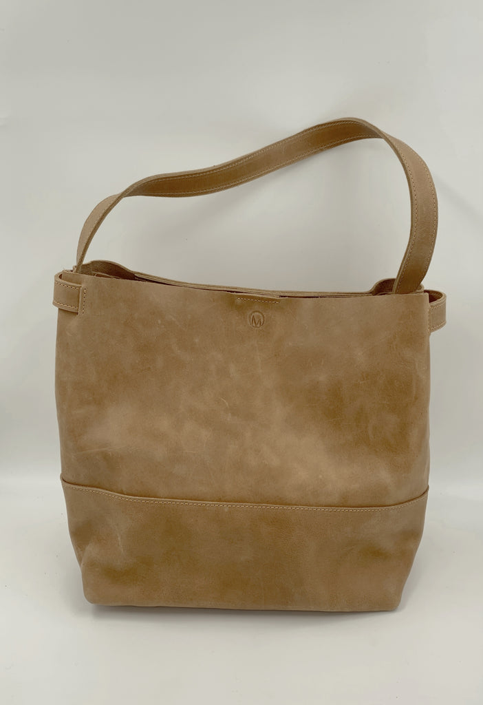 Caramel Bucket Bag