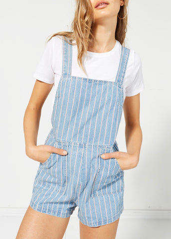 Draw The Line Denim Pinnie