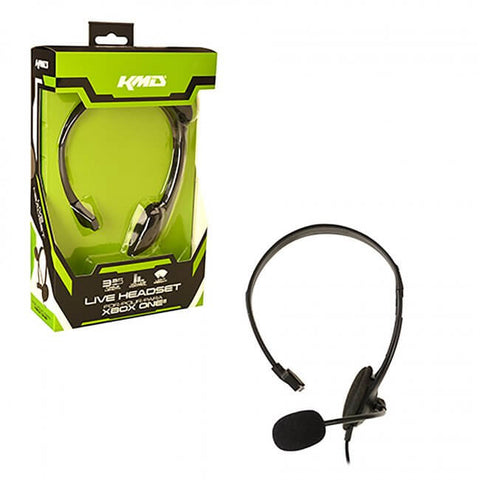 Xbox One Wired Chat Headset (KMD-XB1-5334)