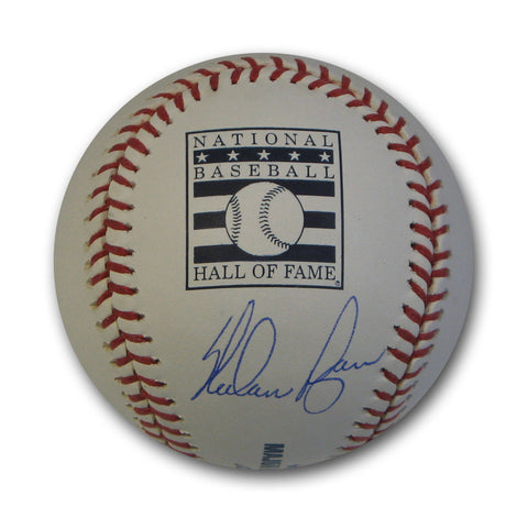 Autographed Nolan Ryan Hall of Fame Logo Baseball. - Peazz Toys