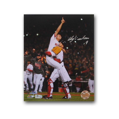 Autographed Koji Uehara 8x10 unframed 2013 World Series photo. - Peazz Toys