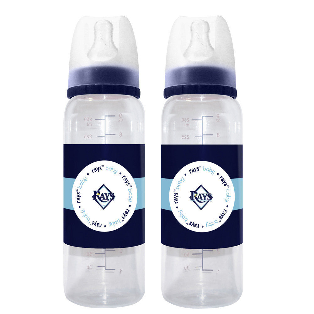 2 Pack of Baby Bottles Tampa Bay Rays