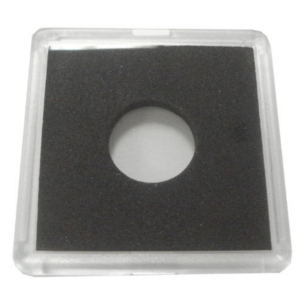 2X2 Plastic Coin Holder With Black Insert Dime 25 Holders