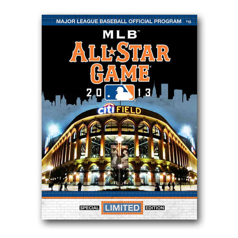 2013 MLB All Star Game Program - Peazz Toys