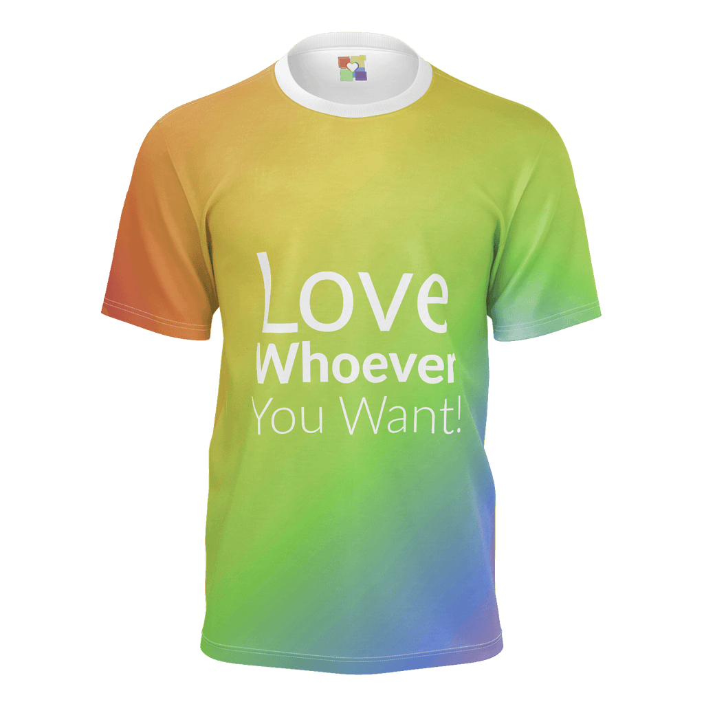 "Men: ""Love Whoever You Want (2018)"" T-Shirt"