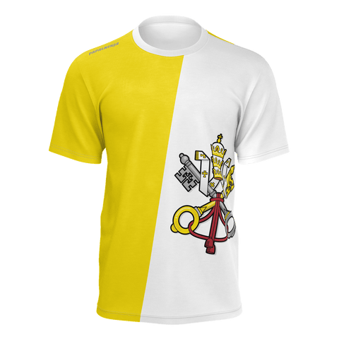 (Adult) Papal Ninja Flag T-Shirt - Be Courageous