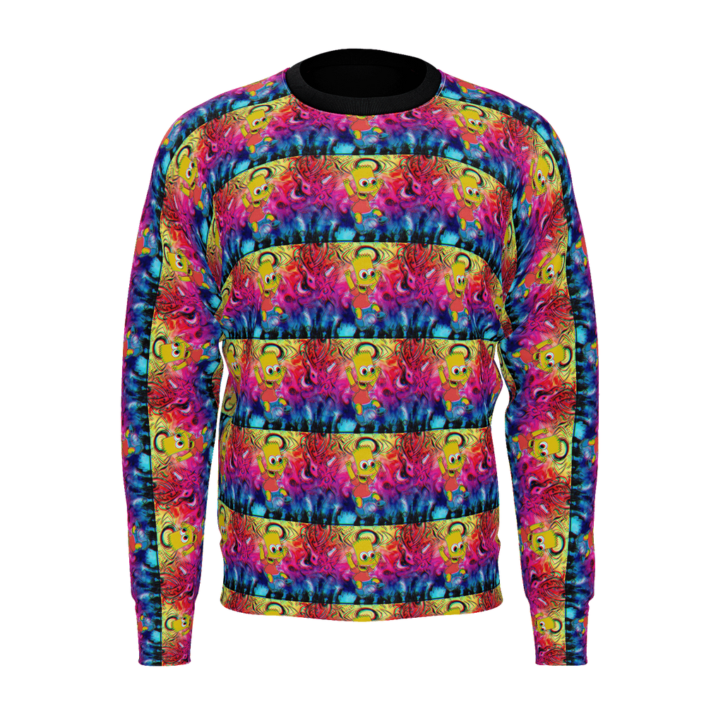 Trippy Bart Sweater