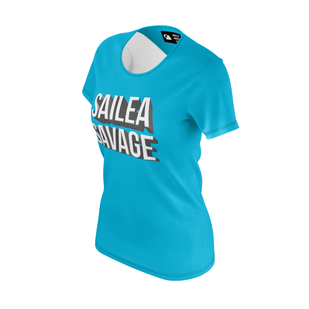 Sailea Savage Blue Womens Tee