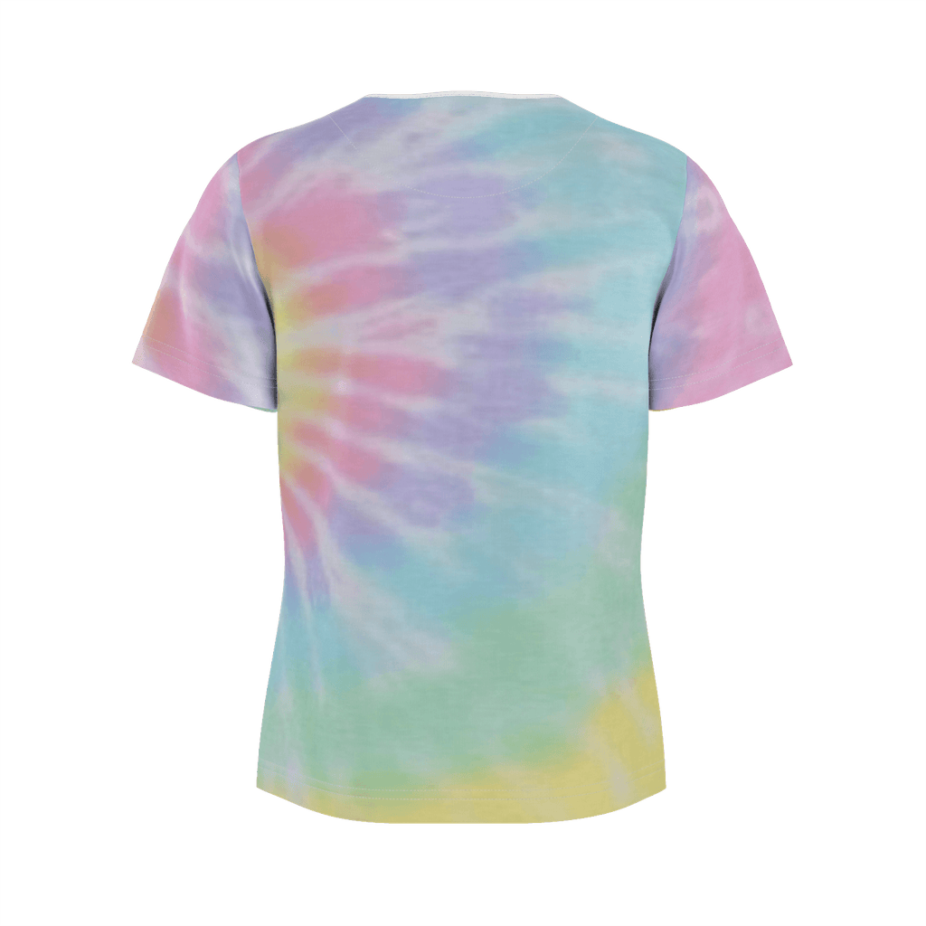 Cotton Candy Peak Tiedye Shirt