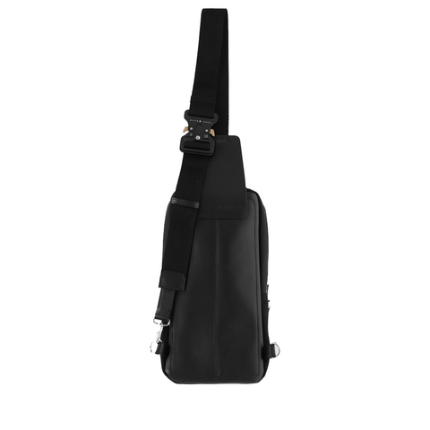 """Handle crossbody bag"" Black"