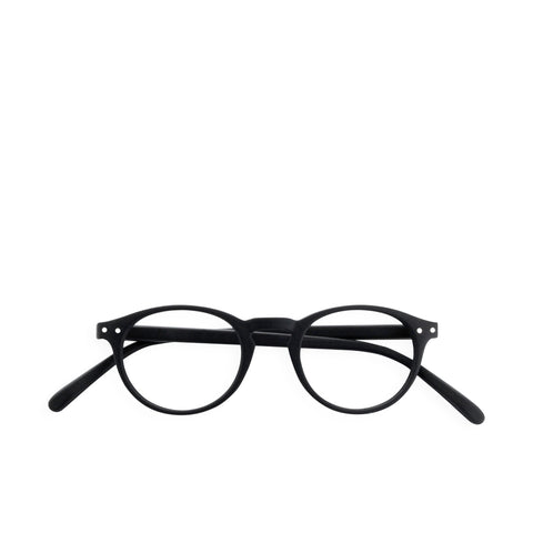 """A"" Black Reading Glasses"