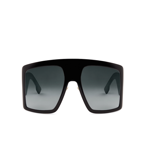 """Solight 1"" Black Sunglasses"