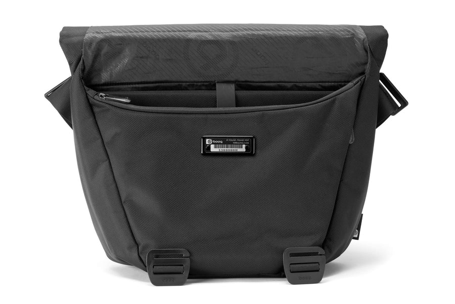 Shoulder Bags - Shadow, Black Nylon