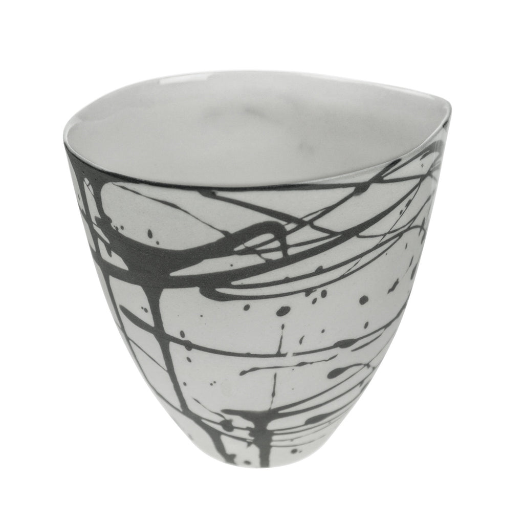 Medium Jug in Grey (Scribble Collection)