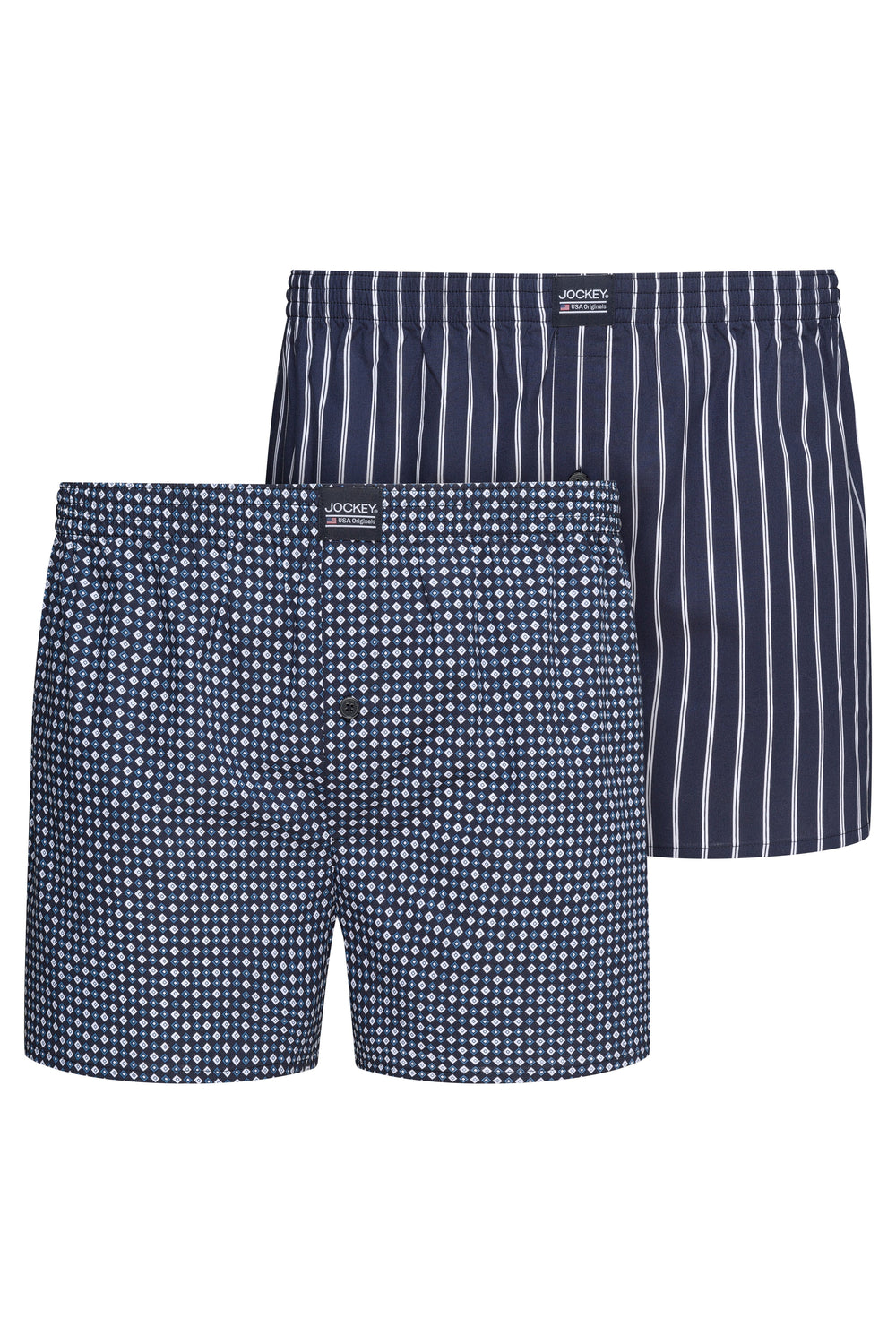 Jockey® Everyday Woven Boxer 2 Pack